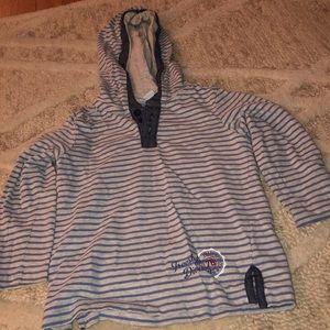 Bob Der Bar hooded knit shirt 2t